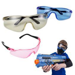 1 X Safety Glasses Goggle for Nerf Gun Eyewear Eye Protectio