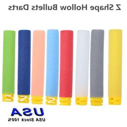 10 Colors Toy Soft Refill Foam Bullets Darts For Nerf Elite