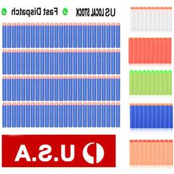 100/500/1000PCS Refill Blaster Bullets Foam Darts for Nerf E