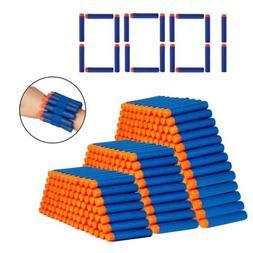 1000Pcs Soft Bullet Darts for  Elite Series Blasters Kid Toy