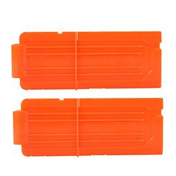 12 Round Darts Replacement Plastic Magazines Clip Orange For