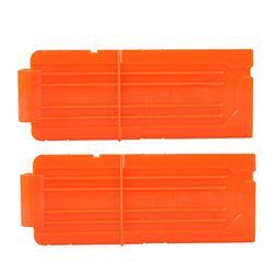 12 Round Darts Replacement Plastic Magazines Clip Orange For