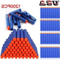 1200PCS Blue Refill Bullet Darts for Elite Series Blasters T