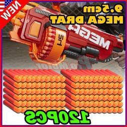 120PCS Red Refill Foam Bullet Darts For Nerf N-Strike Elite