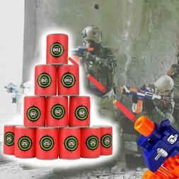 12PCS Foam EVA Bullet Target Gun Dart Shoot For NERF N-Strik