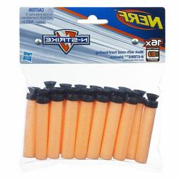 16 Pack Nerf N-Strike Replacement Nerf Guns Suction Darts Bl