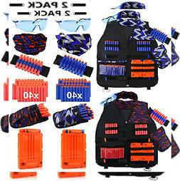 2 pack kids tactical vest kit