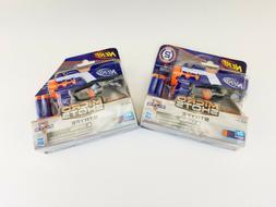 2 PACK NERF Micro Shots STRYFE Elite Dart Mini Blaster Toy G