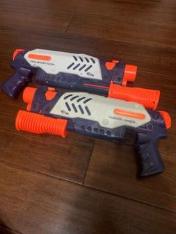 2 Nerf Super Soaker ScatterBlast Water Guns.
