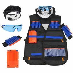 2 Tactical Vest Kit for Nerf Guns N-Strike Elite Series w Da