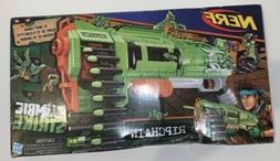 2 NERF ZOMBIESTRIKE RIPCHAIN Slam Fire Pump Action Machine G
