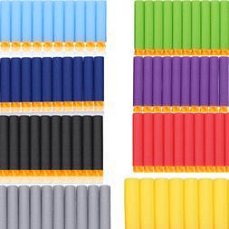 200/400pc 7.2cm Soft EVA Foam Refill Bullets Darts for Game