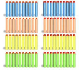 200 Foam Darts Refill Bullet Pack for Nerf N-strike Elite S.