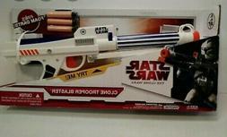 Hasbro 2006 STAR WARS Rare Clone Trooper Nerf Dart Gun Blast