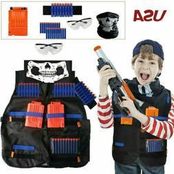 Tactical Vest Suit Jacket Kit For Nerf Guns N-Strike Elite S