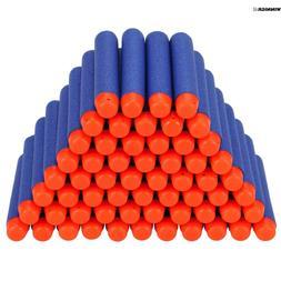400pcs 7.2cm Refill Foam Darts fit Nerf N-strike Kids Blaste