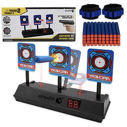 43pc Kit Electronic Target, 40 Bullet Darts for N-Strike Gun