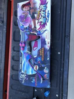 Nerf Rebelle Agent Bow Blaster with Purple Arrows with Bonus