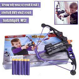 Avengers Hawkeye Nerf Gun Bow and Arrow Crossbow Darts Soft