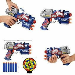 Newisland Big League Blaster Gun with Foam Darts and Dartboa