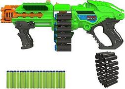 Big Nerf Machine Gun Motorized Powerbolt Belt Blaster Best F
