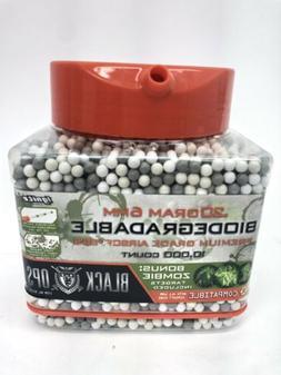 Biodegradable Premium Grade Airsoft BB's .20g 6mm Easy Pouri