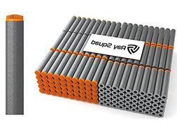 200 Pack Black Koosh Darts Nerf Compatible Darts by Ray Squa