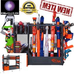 Nerf Blaster Rack Toy Storage For N-Strike Gun Storage AUTHE