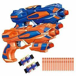 Blasters & Foam Play Fstop Labs 2 Pack Hand Gun Toy Compatib