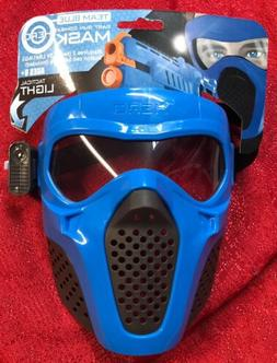 Blue Rival Face Tactical Mask Dart Gun kids Toy Outdoor Game