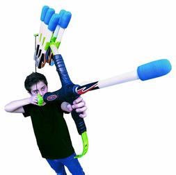 Bow Nerf Gun N-Strike Blaster Bow Gun Arrow Archery Set Shoo