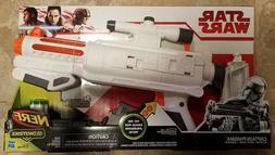 Brand New Star Wars Captain Phasma Electronic Nerf Blaster w