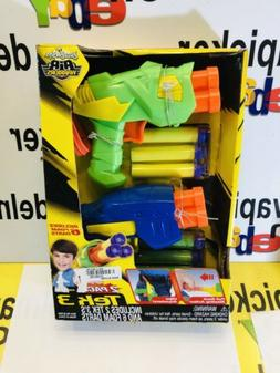 Buzzbee Air Warriors Tek 3. 2 Nerf Guns And Darts