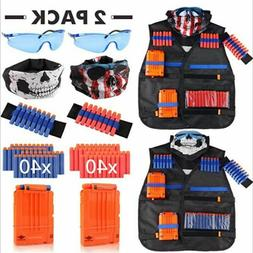 Child Suits for Nerf Gun Accessories Tactical Equipment Gun