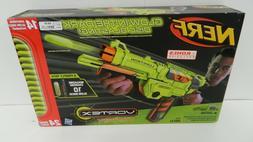 COOL NERF LUMITRON GLOW IN THE DARK VORTEX GUN! 24 rechargea