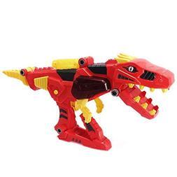 Transer Deluxe Lights & Sounds T-Rex Dino Morpher Transforme