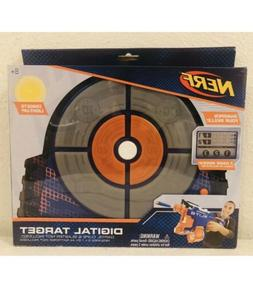 Nerf Digital Light Up New Dart Gun Target Toy Nib Accuracy S