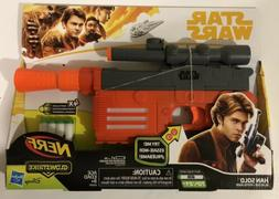 Disney's Star Wars Hasbro Han Solo Nerf Glowstrike Blaster T