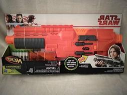 Disney Star Wars Sergeant Jyn Erso Nerf GlowStrike Deluxe Bl