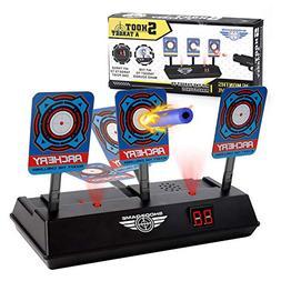 MASCARRY Electric Scoring Auto Reset Shooting Digital Target