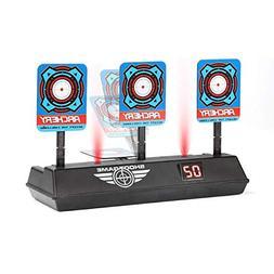 Electric Scoring Auto Reset Shooting Digital Target for Nerf