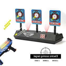 fibevon Electric Scoring Auto Reset Shooting Digital Target
