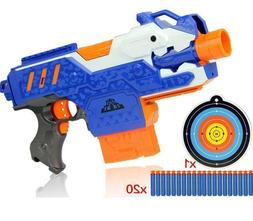 Electric Soft Toy Bullet Sniper Rifle Weapon Nerf Shooting G