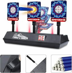 Electronic Digital Scoring Target for Nerf Guns Auto Reset G