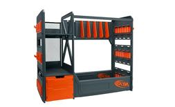 Nerf Elite Blaster Gun Rack Organizer  plus Shelving and Dra