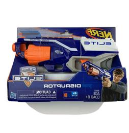 NERF Elite Disruptor Kids Dart Toy Gun Elite  6 Soft Tipped