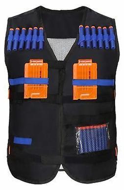 Yosoo Kids Elite Tactical Vest for EVA Nerf Gun N-strike Eli