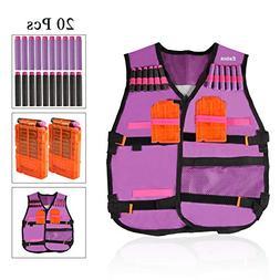 Estink Kids Elite Tactical Vest Kit for Nerf N-Strike Elite