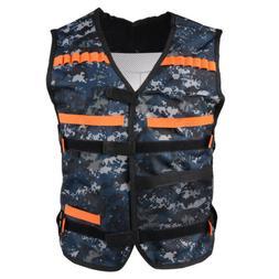Elite Tactical Vest Kit Ammo Pistol Toy Guns Holder for Nerf