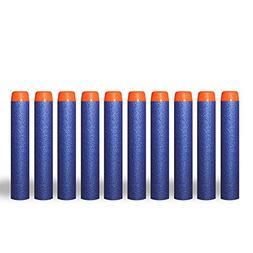 Fengirl 100Pcs EVA Foam Refill Bullet Darts for Nerf N-strik